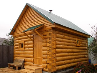 Строительство деревянных бань под ключ