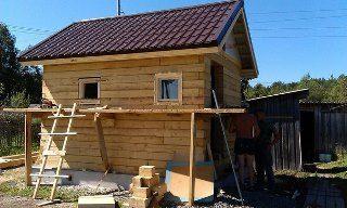 Строительство саун под ключ в Нижнем Новгороде