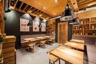 Дизайн интерьера кафе в Нижнем Новгороде