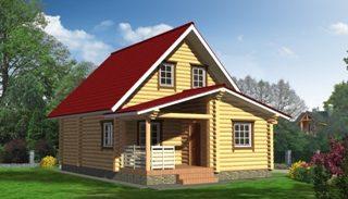 Проекты домов из бревна в Нижнем Новгороде