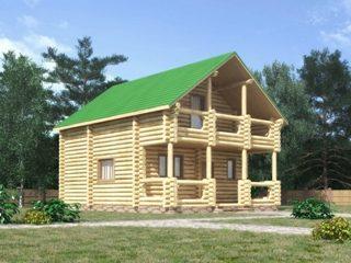 Проекты домов 7х7 из оцилиндрованного бревна в Нижнем Новгороде