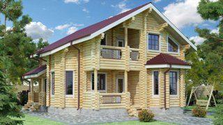 Проекты домов 9х12 из оцилиндрованного бревна в Нижнем Новгороде