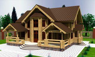 Проекты домов 10х12 из оцилиндрованного бревна в Нижнем Новгороде