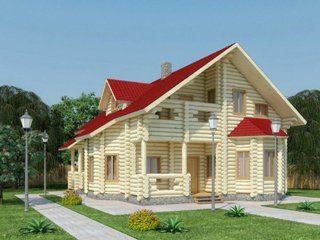 Проекты домов 11х11 из оцилиндрованного бревна в Нижнем Новгороде