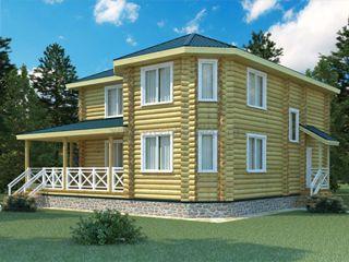 Проекты домов 12х12 из оцилиндрованного бревна в Нижнем Новгороде