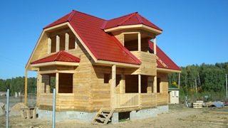Проекты домов из бруса 7x8