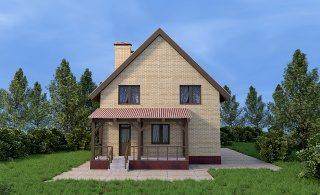 Проекты домов из кирпича 6х9 в Нижнем Новгороде