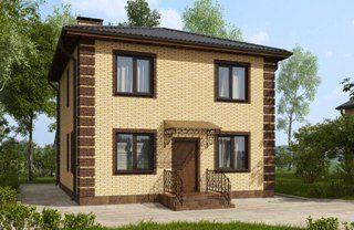 Проекты домов из кирпича 7х7 в Нижнем Новгороде