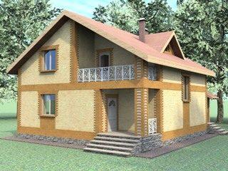 Проекты домов из кирпича 7х8 в Нижнем Новгороде