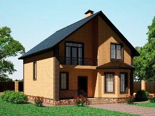 Проекты домов из кирпича 8х9 в Нижнем Новгороде