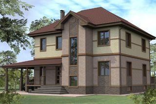 Проекты домов из кирпича 8х10 в Нижнем Новгороде