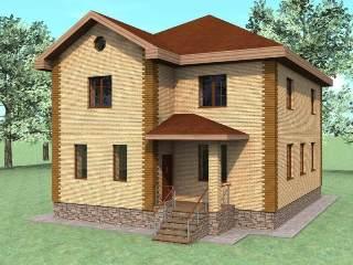 Проекты домов из кирпича 10х10 в Нижнем Новгороде