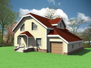 Проекты домов из кирпича 10х12 в Нижнем Новгороде