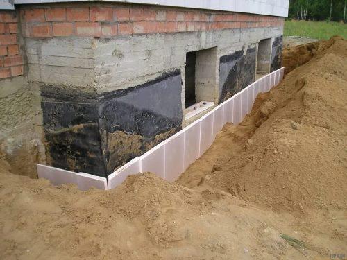 Строительство цокольного фундамент в Нижнем Новгороде