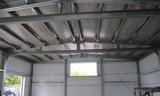 Строительство гаража из ЛСТК
