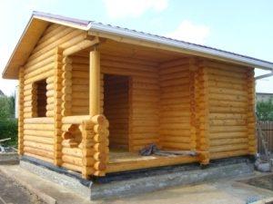 Строительство бань под ключ в Нижнем Новгороде