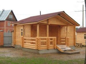 Строительство деревянных бань под ключ в Нижнем Новгороде