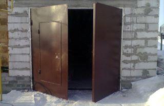 Гаражные распашные ворота в Нижнем Новгороде