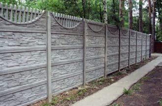 Бетонные заборы под ключ в Нижнем Новгороде