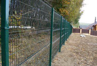 Забор из сетки гиттер (gitter) в Нижнем Новгороде