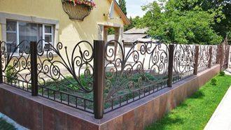 Кованые заборы с установкой в Нижнем Новгороде