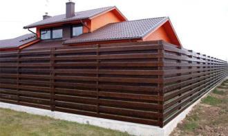 Деревянный забор под ключ в Нижнем Новгороде