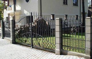 Ковано сварные заборы в Нижнем Новгороде