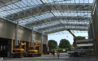 Строительство производственных зданий сооружений