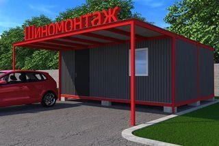 Строительство шиномонтажной в Нижнем Новгороде