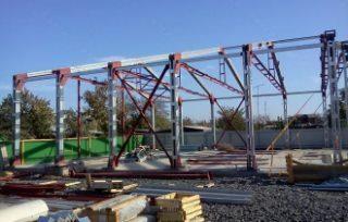 Строительство шиномонтажной в Нижнем НовгородеСтроительство шиномонтажной в Нижнем Новгороде